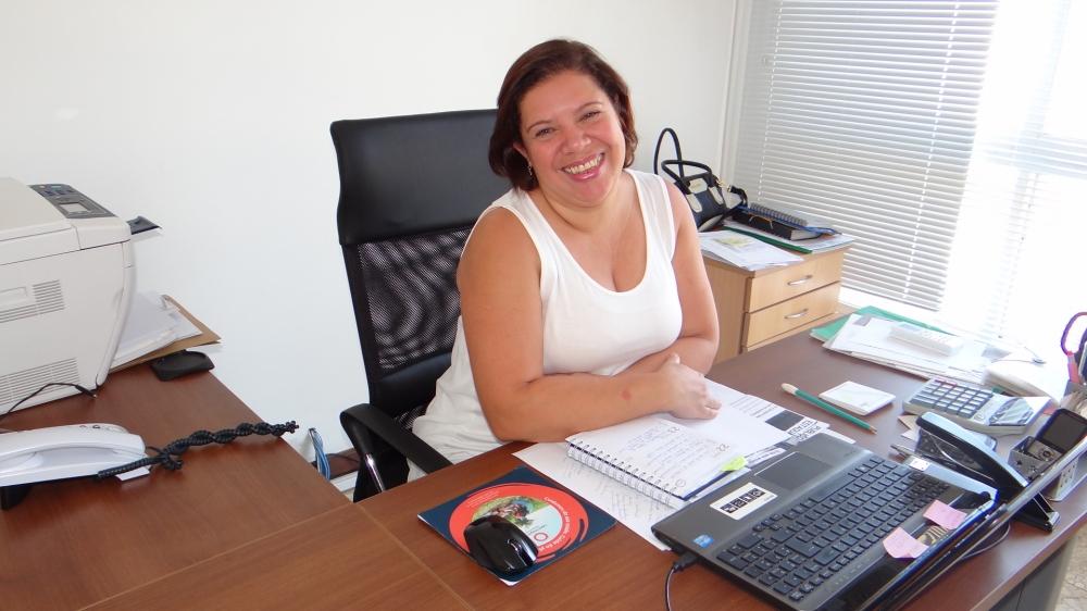 Alexandra Medeiros.
