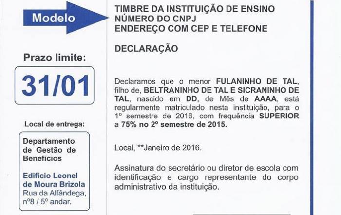 BOLSA DE REFORÇO ESCOLAR